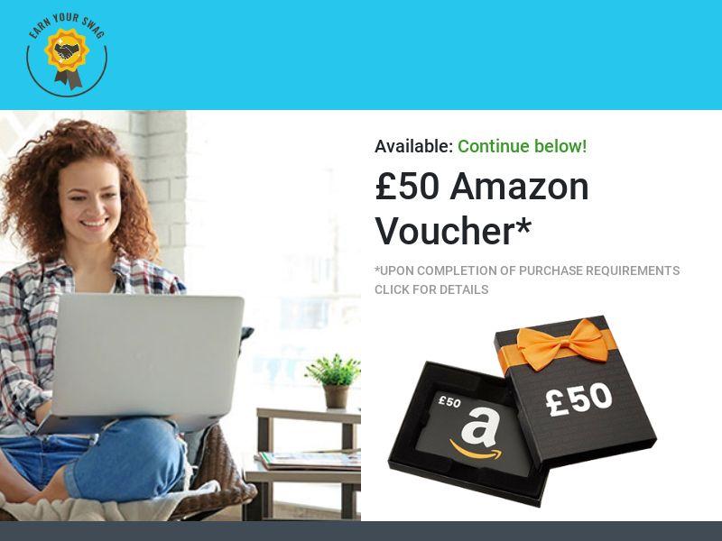 Earn Your Swag - £100 Amazon Voucher CPL [UK]
