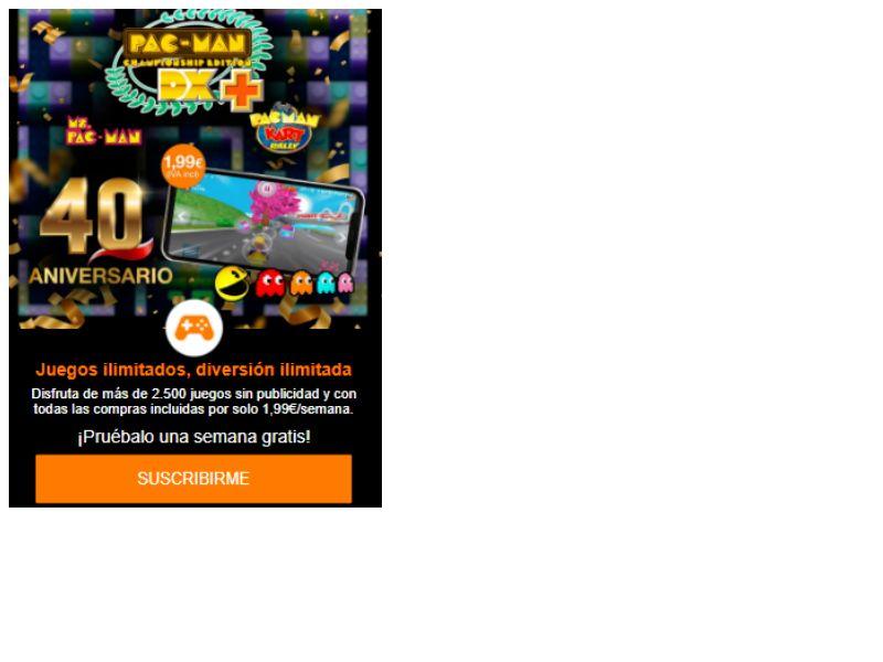 PacMac Games Orange