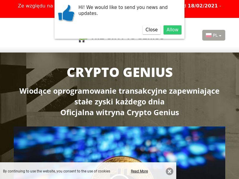 Crypto Genius Polish 2430