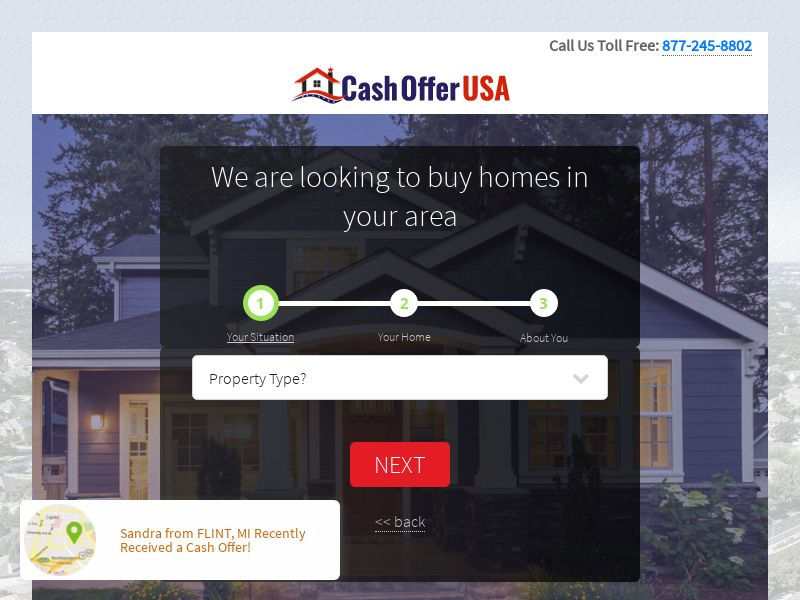 Home Cash Offer USA - CPL - US [EXCLUSIVE]