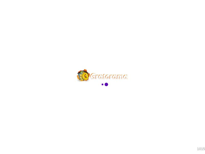 Gratorama: In-house Casino Brand - Direct Registration - CPL - Desktop & Mobile