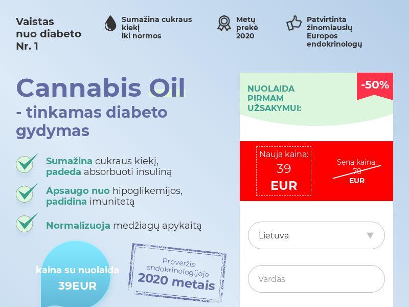 Cannabis Oil LT (diabet)