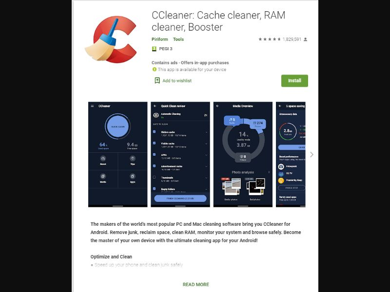 CCleaner ID [ID] - CPI
