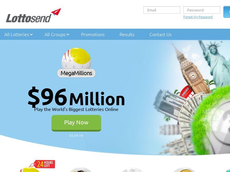 Lottosend Powerball - Gambling/Lottery/Bingo - Multi-GEO