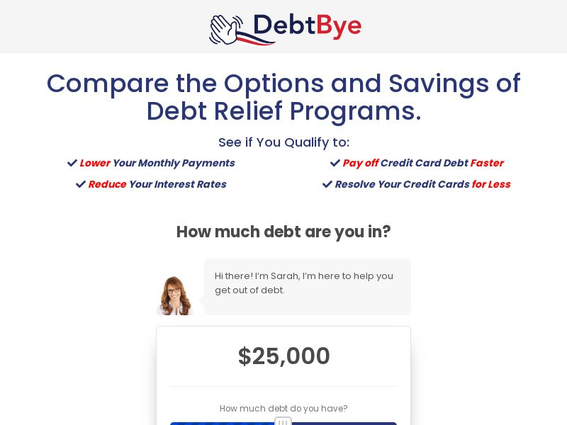 DebtBye.com (US) (CPL) (Personal Approval)