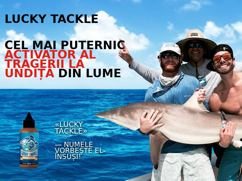 Lucky Tackle RO - fish activator