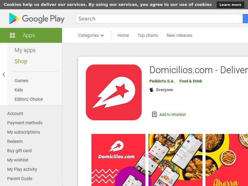 Domicilios – Android - CO - CPFT
