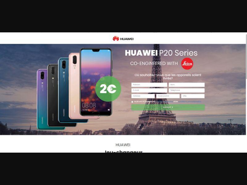 Huawei P20 Pro - Sweepstakes & Surveys - Trial - [FR]