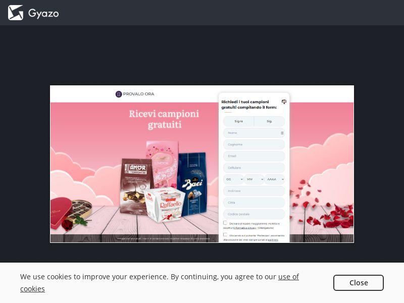 Provalo Ora - Valentine Samples - IT