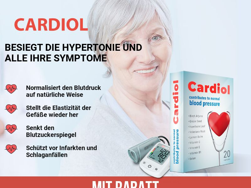 Cardiol CH - pressure stabilizing product
