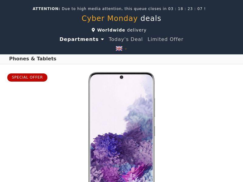 Samsung Galaxy S20 (Amazon) - SG