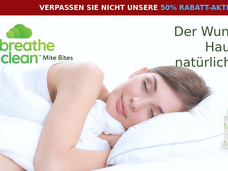 Breathe Clean Mite Bites LP01 (GERMAN)