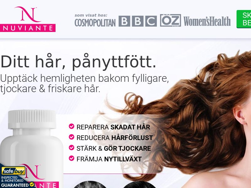 Nuviante LP01 Step1 - SWEDISH - (Hair)