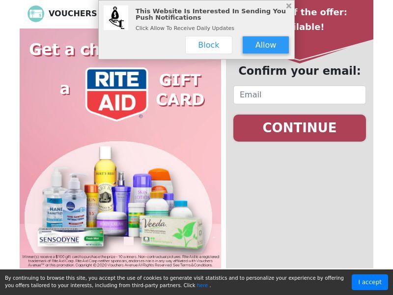 US - Vouchers Avenue Rite Aid