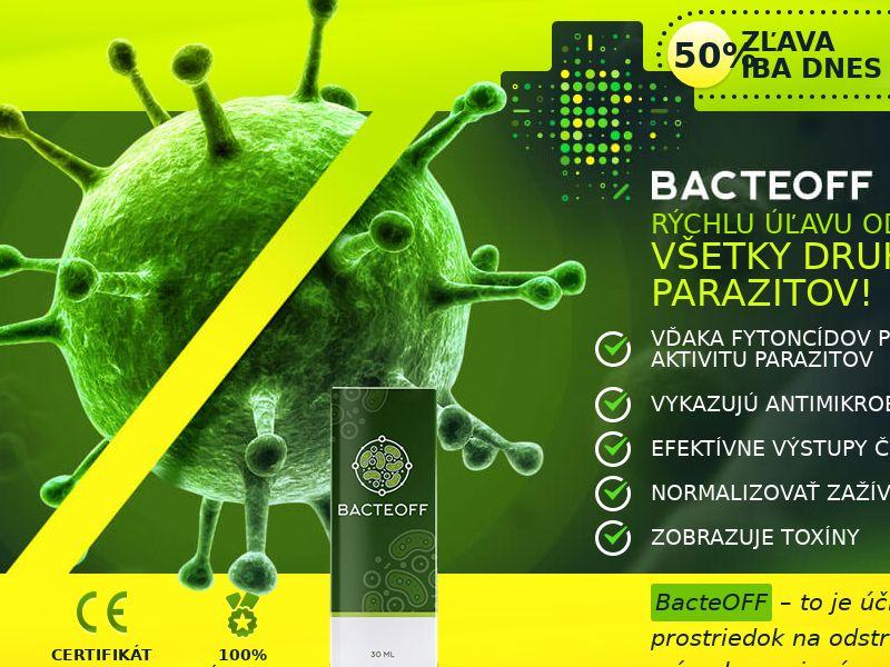 BacteOFF SK - anti-parasite product
