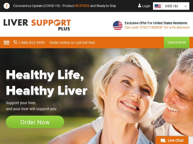 Liver Support Plus | Natural Cleansing & Detox Supplement