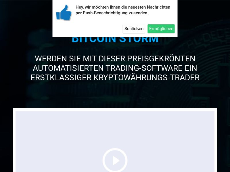 Bitcoin Storm Pro German 1314