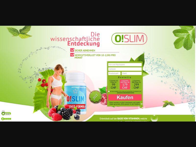 O!Slim - Diet & Weight Loss - SS - [LI]