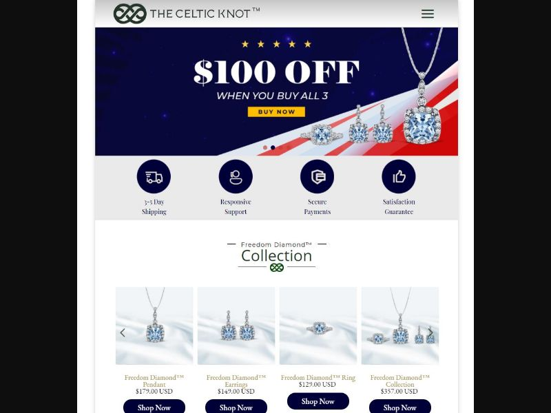 Freedom Diamond Collection - Independence Day [US] (Email,Banner,Search,Social,Native) - CPA
