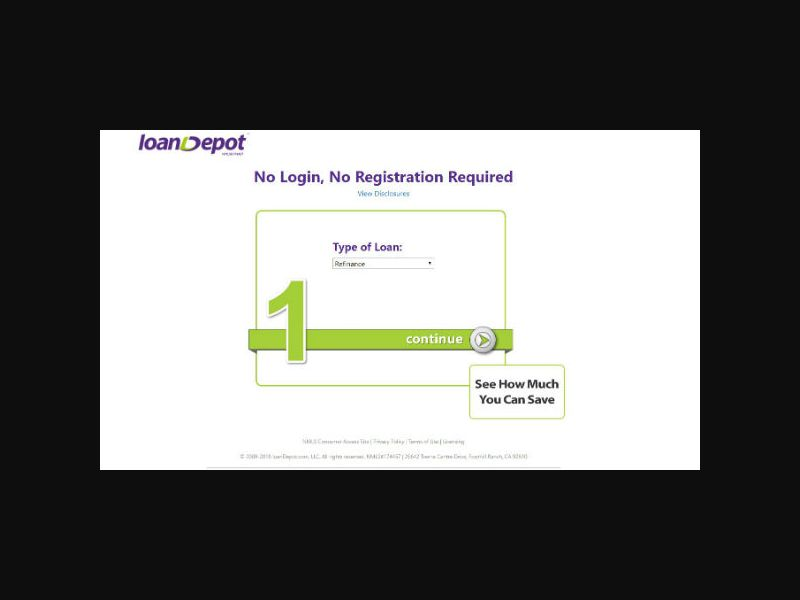 LoanDepot - Mortgage Refinance (US)