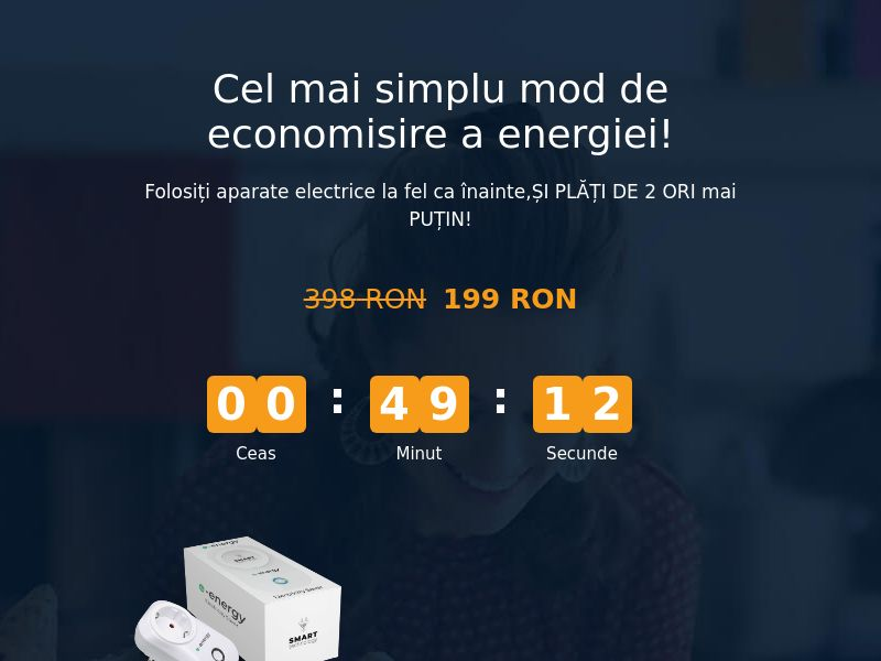 E-Energy RO - energy saving device