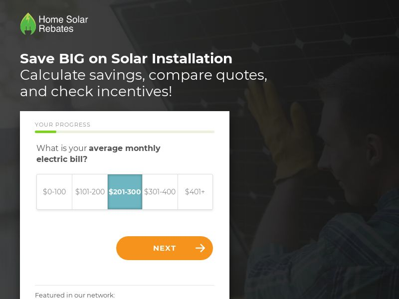 Home Solar Rebates - Free Quote [US] (Email) - CPL