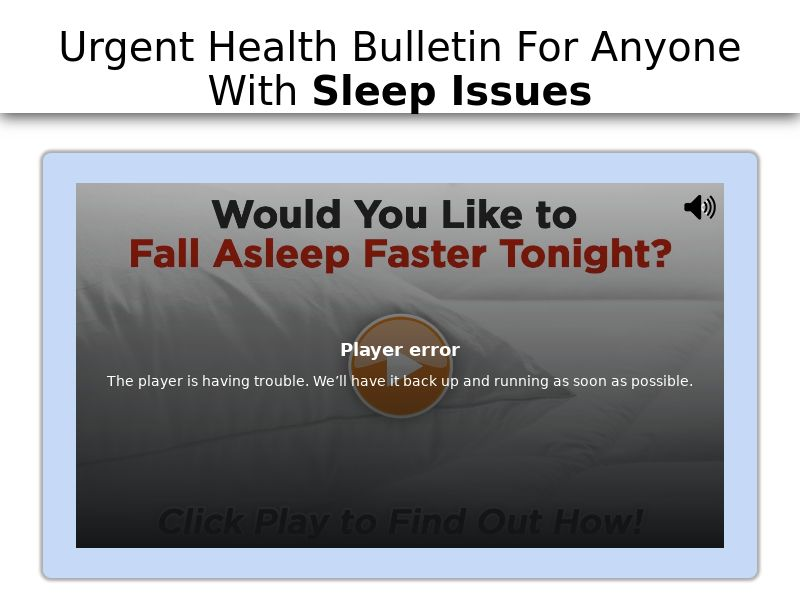 Sleep Faster Rem Vital - (US,UK,NZ,AU)