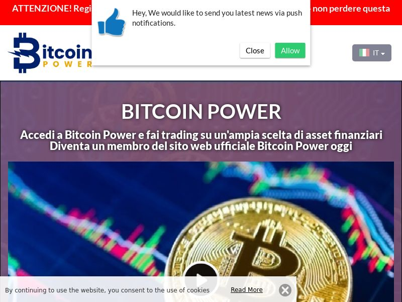 Bitcoin Power Italian 3668