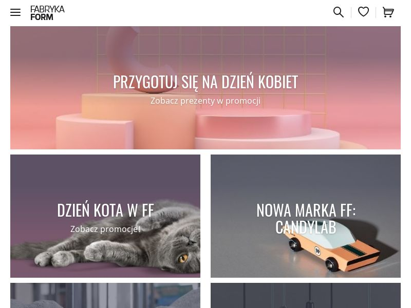 FabrykaForm.pl (PL), [CPS], Accessories and additions, Presents, House and Garden, Furniture, Household items, Home decoration, Appliances and Electronics, Audio and video, Household goods, Sport & Hobby, Sell, shop, gift