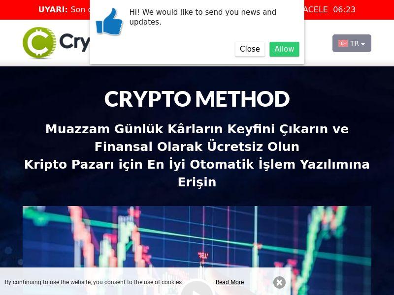 Cryptomethod pro Turkish 2163