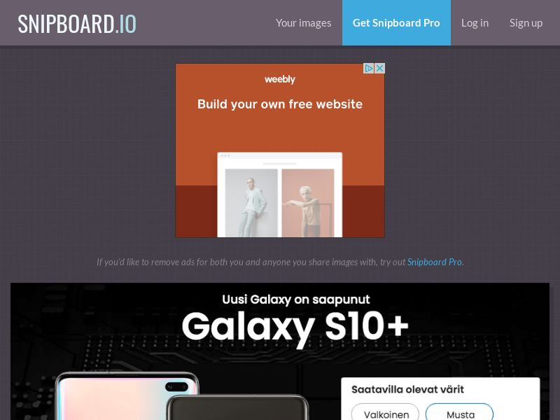 SteadyBusiness - Samsung Galaxy S10+ LP25 FI - CC Submit