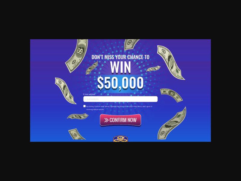Sweeps Rewards $50,000 Giveaway (US) SOI