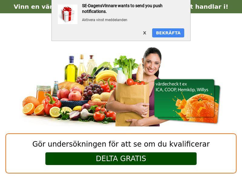 Groceries Voucher - SE