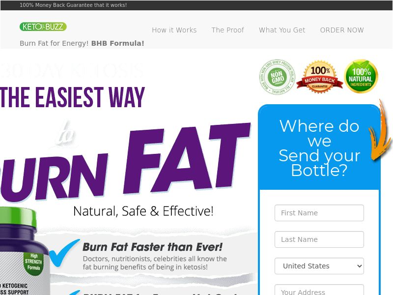 Keto Buzz - Diet & Weight Loss - US