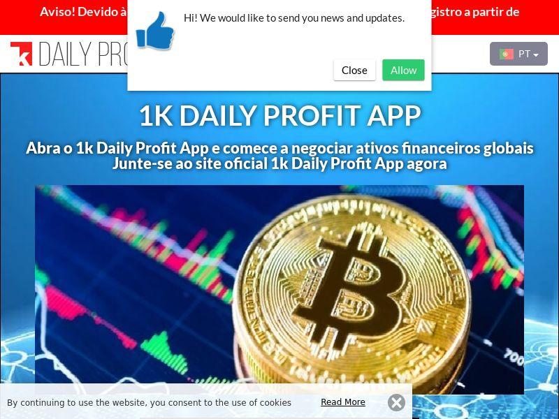 1k Daily Profit App Portuguese 2756