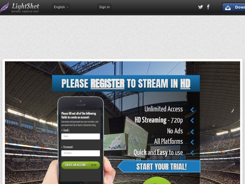 Smushgame Stadium Direct to Sign Up (Entertainment) (CC Trial) - United States