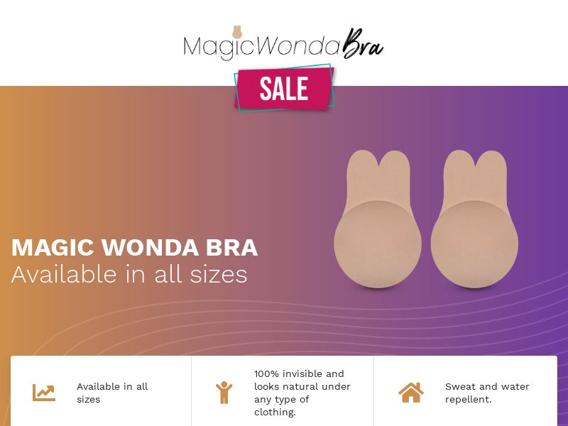 Magic Wonda Bra (PPS) - eCommerce - WW