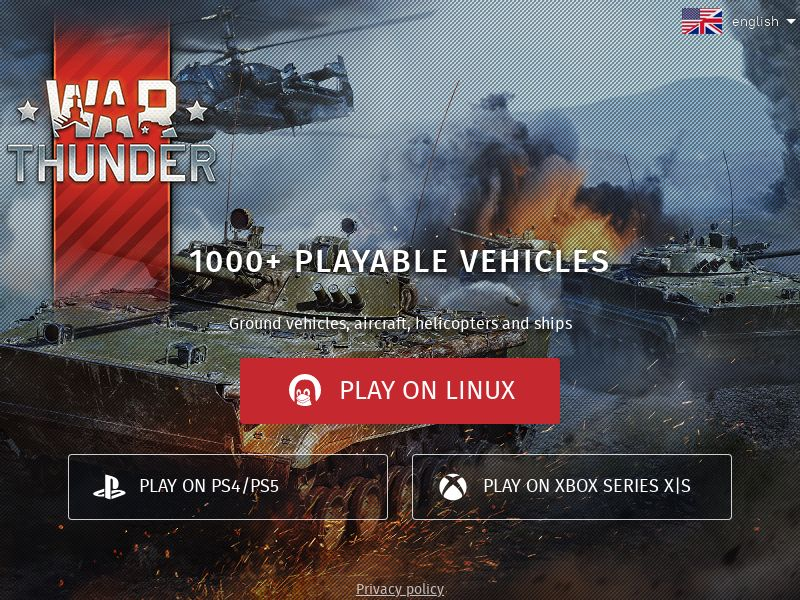 War Thunder - CPL - [AU, CA, DK, FI, IE, NZ, NO, SE, GB, US] - Email Only