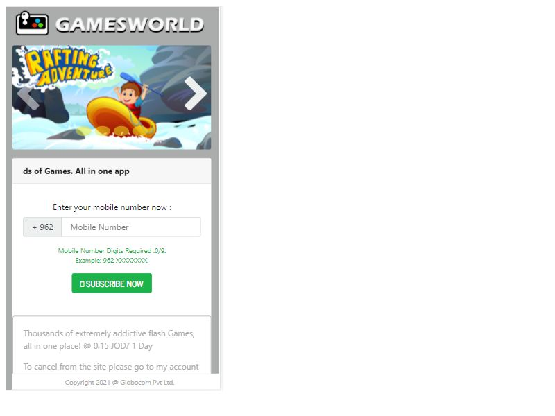 Games World WIFI
