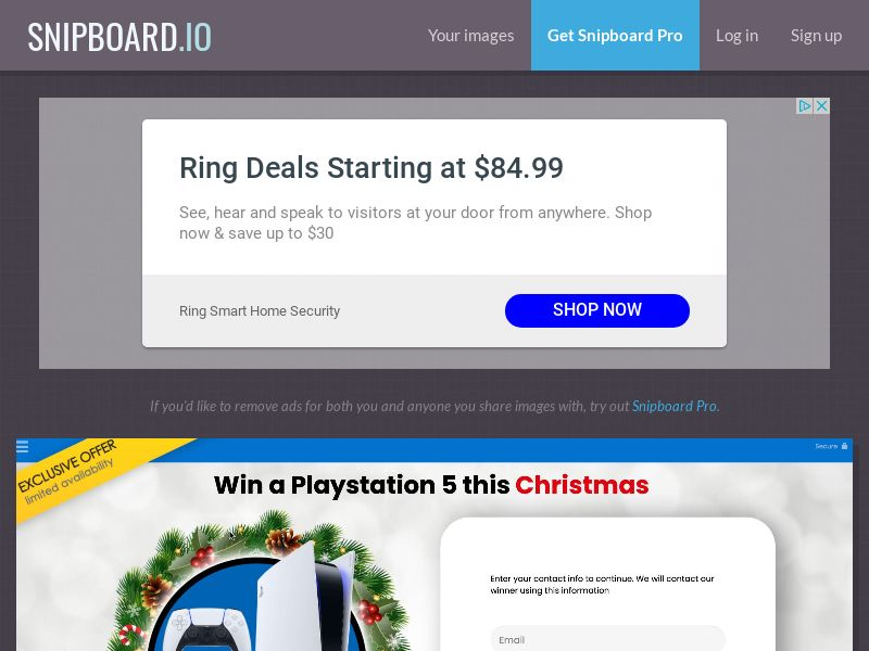 YouSweeps - Win a playstation 5 christmas US - SOI
