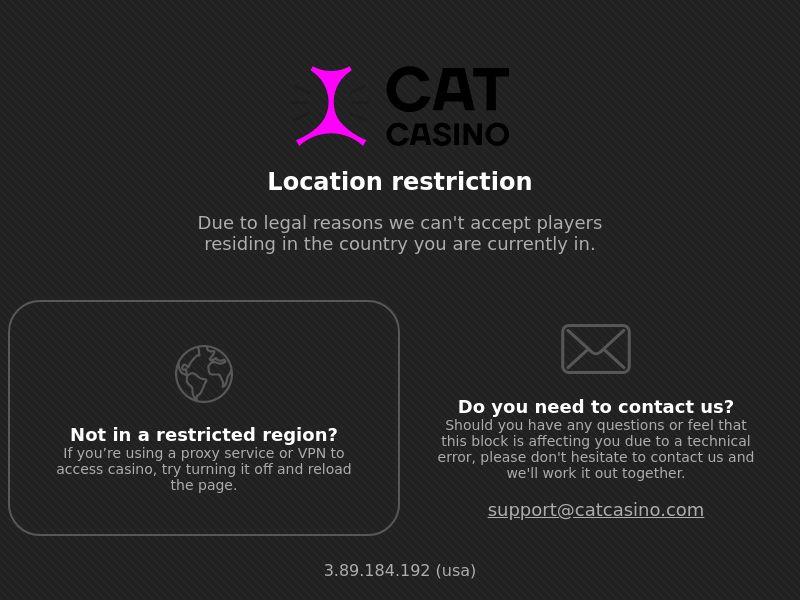 Cat Casino CPA UA