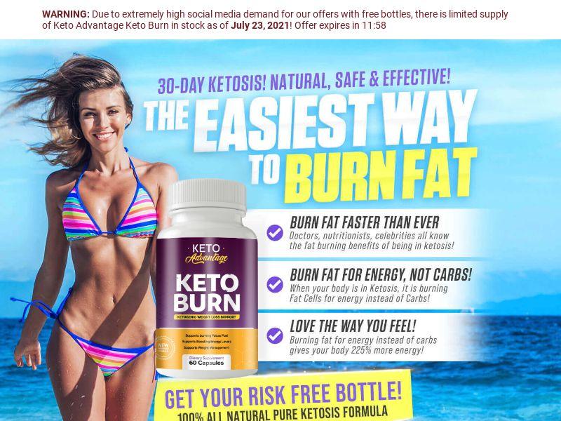 Keto Advantage Keto Burn - SS - US - Diet
