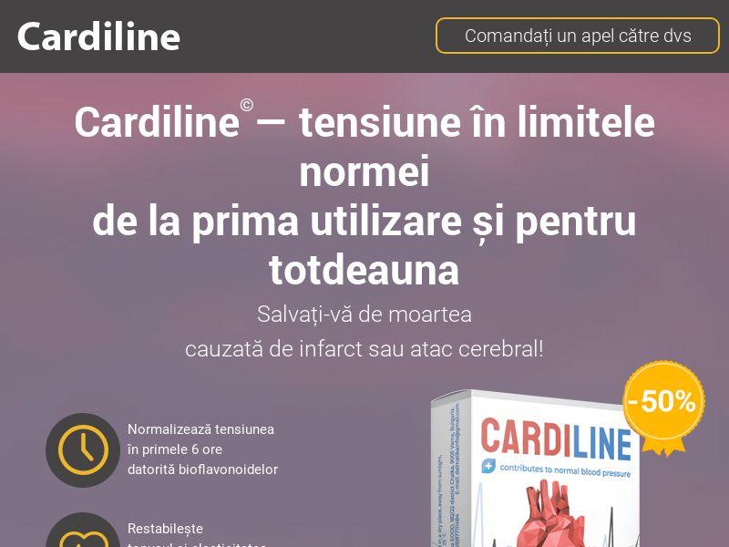 Cardiline RO - pressure stabilizing product