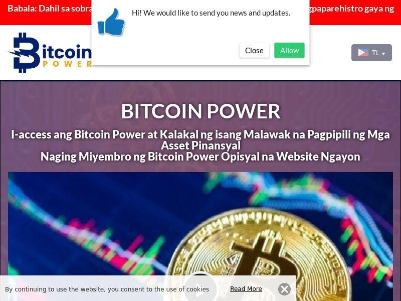 Bitcoin Power Filipino 3672