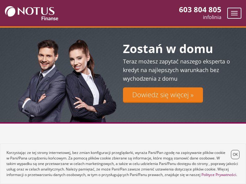 NOTUS Finanse - Kredyt mieszkaniowy (PL), [CPL | CPS]