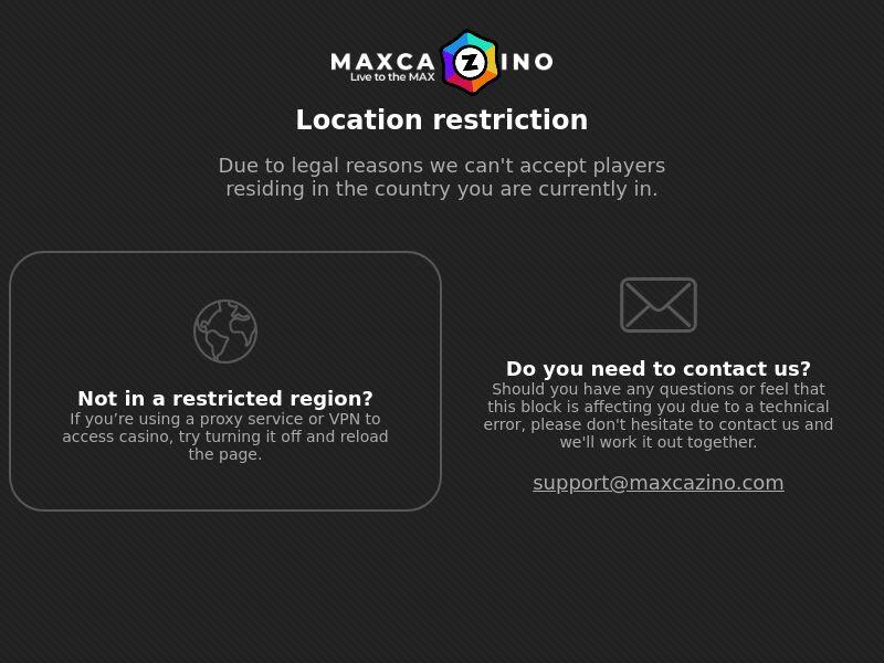 Max Cazino | MX, BL 10 | Schemes