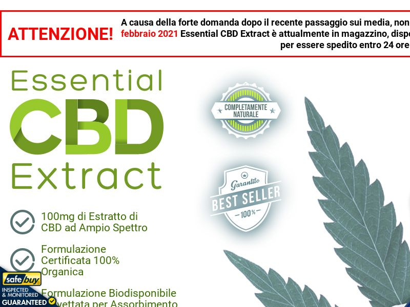 Essential CBD Extract LP01 - Italian