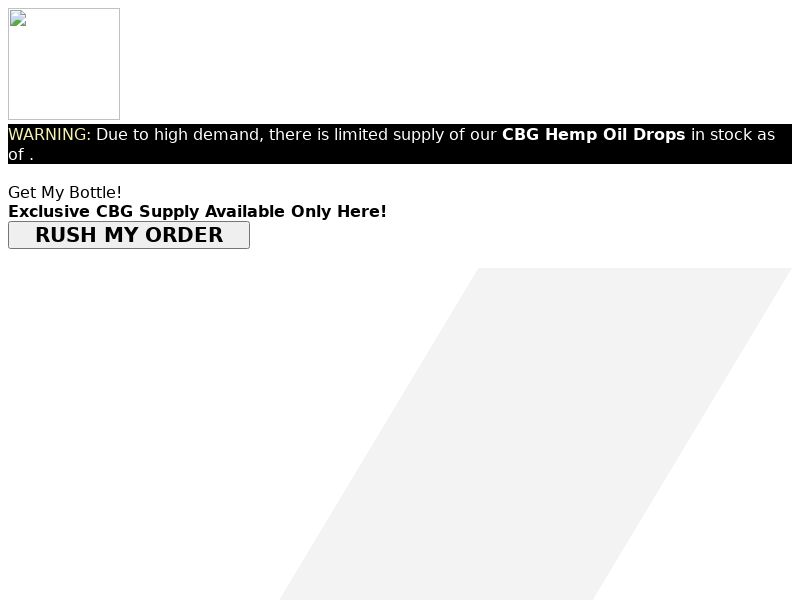 CBG Hemp Oil (CPA) (SS) (US) (CA)