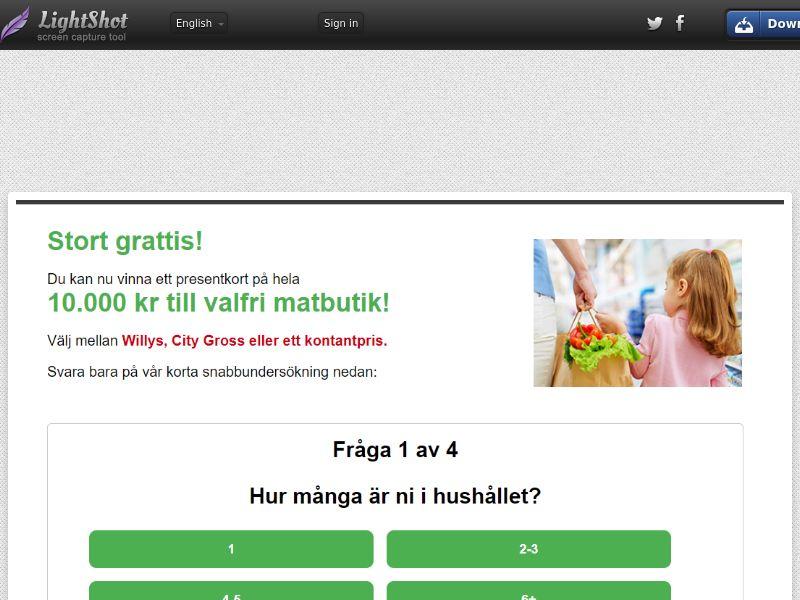 Online Tester iPhone 11 (with Prelander) (Sweepstake) (SOI) - Sweden