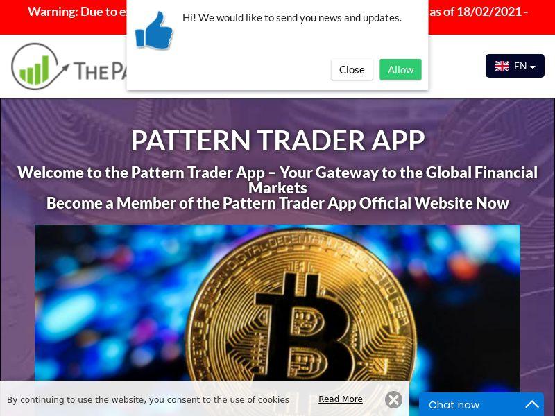 Pattern Trader App Swedish 2541
